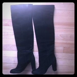Nine West over the knee suede boots